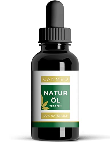 CANMED® Naturöl Tropfen | Naturextrakt | Omega 3-6-9, Vitaminen, Mineralien und Antioxidantien | Mit Hanfsamenöl | Verkehrsfähigkeitsbescheinigung | Vegan | 10ml