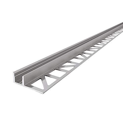 Reprofil LED Profil EL-01-08 Fliesen-Profil für 8-9,3 mm LED Stripes, 1250 mm, aluminium eloxiert 975330
