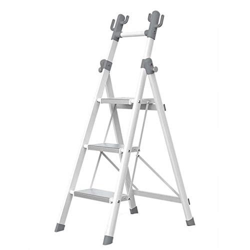 Multifunctionele ladder Multi-purpose Ladder, Huishoudelijke Shelf Folding Metal Ladder Slaapkamer Badkamer Ladder Portable Ladder Kapstok Huishoudelijke ladder Ladder huis vouwen