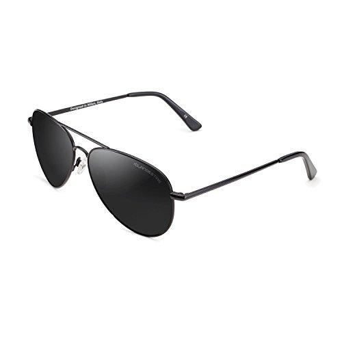 CLANDESTINE A10 Black - Gafas de Sol de Nylon HD para Hombre & Mujer