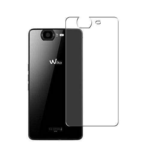 Vaxson 2 Stück Rückseite Schutzfolie, kompatibel mit Wiko Highway 4G 2014, Backcover Skin TPU Folie [nicht Panzerglas/nicht Front Bildschirmschutzfolie]