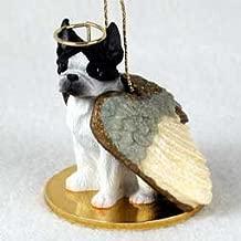 Boston Terrier Angel Dog Ornament