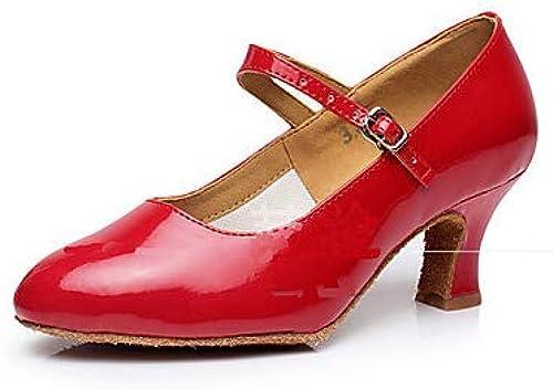 YONGJIU Chaussures de Danse Sandales d'été Boucle avec épaisse avec des Chaussures à Talons Hauts Chaussures Simples Taille Code,38