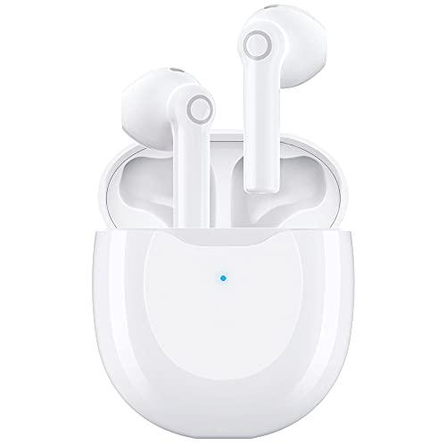 Ecouteur Bluetooth, AIKELA Casque sans Fil 5.1 Imperméables Contrôle Tactile Étanche avec Audio Stéréo HiFi, Micro Intégré, 15 Heures de Temps de Lecture, pour la Course à Pied Fitness