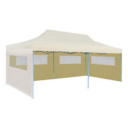 vidaXL Partyzelt 3x6 m Pavillon Gartenpavillon Festzelt Faltzelt Faltpavillon