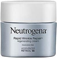 Neutrogena Rapid Wrinkle Repair Retinol Cream, Anti-Wrinkle Face & Neck Cream with Hyaluronic Acid & Retinol,...
