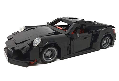 Modbrix Bausteine Auto NeunElfer Turbo, 31 cm, 1003 Klemmbausteine