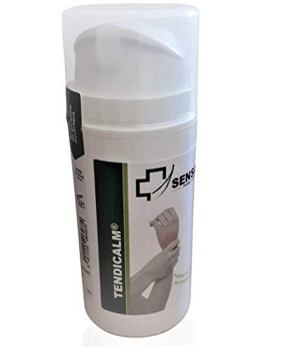 Pomada tendinite - Crema de masaje tendiccalm – acción 4 en 1 – Efecto antiinflamatorio relajante y recuperación muscular con aceites esenciales naturales