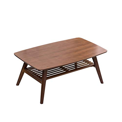 Mesa de centro Habitaciones Nordic creativo de bambú mesa de café con almacenaje plegable Mesa auxiliar de estar independiente Sofá Tabla del hogar dormitorio Mesa lateral Mesita de café Creativo