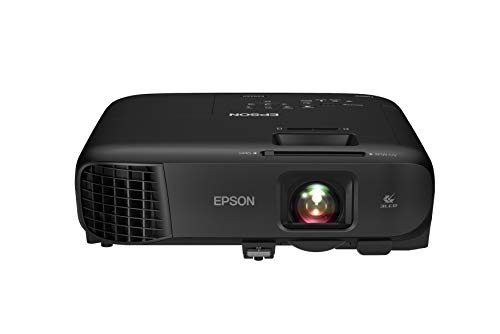 Epson Pro EX9240 3-Chip 3LCD Full HD 1080p Wireless Projector, 4,000 Lumens Color Brightness, 4,000 Lumens White Brightness, Miracast, 2 HDMI Ports, Built-in Speaker, 16,000:1 Contrast Ratio
