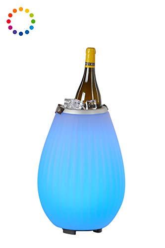 The Joouly 35 - Bluetooth Lautsprecher mit Licht in 9 wechselbaren Farben, per App steuerbar, Getränkekühler, 3.700 mAh Akku (ca. 11 Std. Laufzeit), JOOULYs koppelbar, Mod. 2020