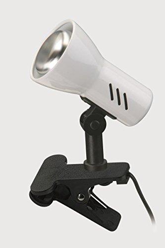 Briloner Leseleuchte Kimbra, Schwarz/Weiß, Kunststoff/ Metall, 2794-016P