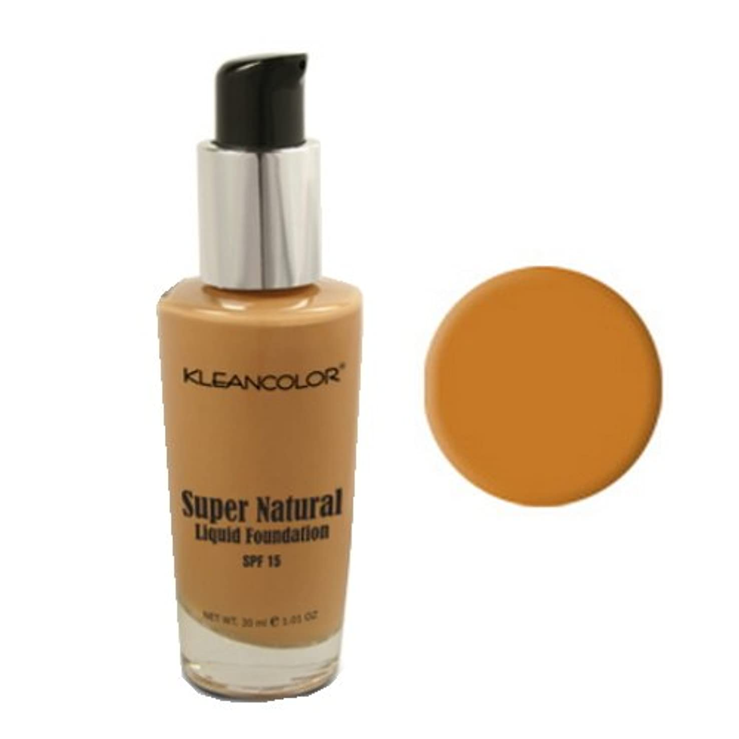 支配的うがい薬開拓者KLEANCOLOR Super Natural Liquid Foundation - Espresso (並行輸入品)