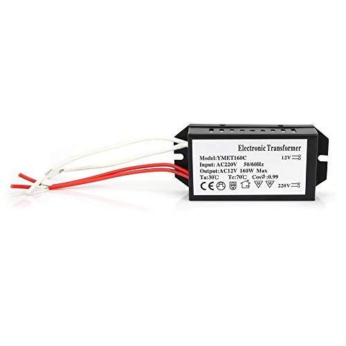 Transformador electrónico, Controlador de fuente de alimentación HC inteligente Entrada de 220 voltios/Salida de 12 voltios (160W)
