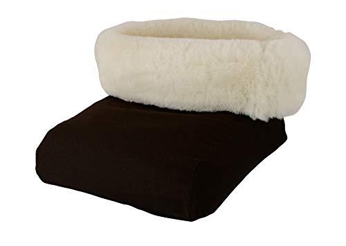 Premium Véritable Peau de Mouton Fußtasche Chauffe-Pieds - Naturelle, Respirant Chaleur