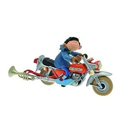 Plastoy 00305 - Figur - Gaston - Motorrad