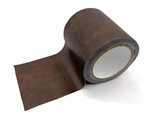 Cutepuppy Lederflicken, Reparatur-Klebeband, Lederkleber für Sofas, Autositze, Handtaschen, Jacken (dunkelbraun)