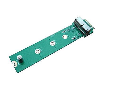 kalea-informatique Adapter für SSD Mac 2013/2014 in 12 + 16 Pin auf m.2 NGFF (Typ PCIe)