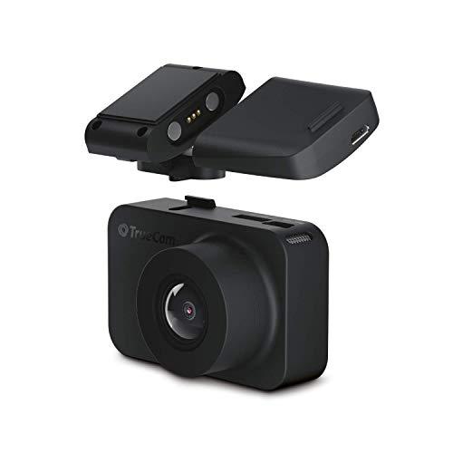 TrueCam M9 DUAL 2.5K Dashcam, cámara de coche con WiFi, GPS con aviso de radar, soporte magnético, grabación nocturna, supercondensador, modo estacionamiento (TrueCam M9 2.5 K)