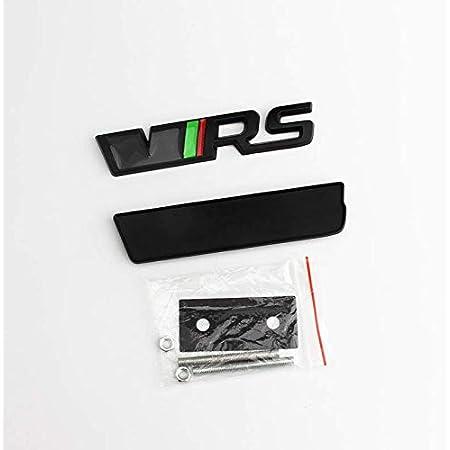 Finest Folia Emblem Folie Set Passgenau Für Innenflächen Skin Logo Aufkleber Kühlergrill K035 Rot Glanz Auto