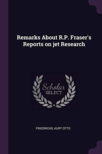 REMARKS ABT RP FRASERS REPORTS