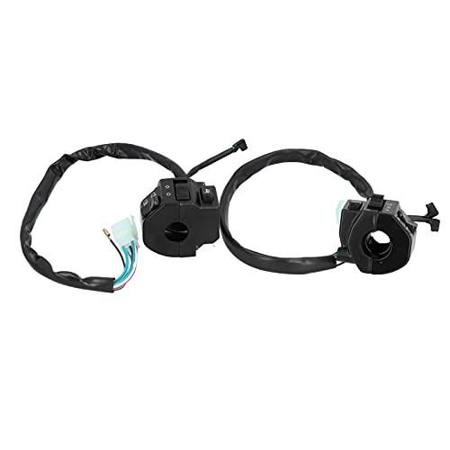Socobeta Controlador de señal de giro, interruptor universal de faro de motocicleta para faro para bocina