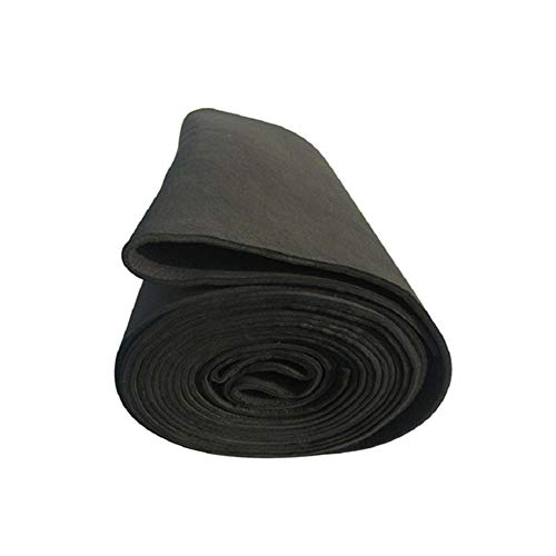 SOFIALXC Schutzdecke für Hochtemperatur-Schweißen, Carbon-Graphit-Filz, 10 mm x 400 mm x 1230 mm