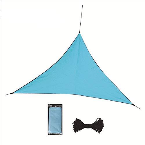 Tyueliang-Home zonwering zeil outdoor waterdichte zonwerende doek driehoek hemel gordijn uitzicht schuur regen doek zon schaduw zeil camping luifel