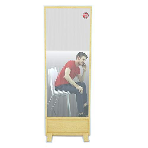 Biombo Separador Anticontagio para Bares y restaurantes 55x180cm Fabricado en España