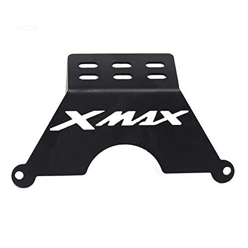 VRDN de alta calidad Para ya.ma.ha xmax porta telefonía XMAX250 XMAX300 Soporte de soporte Smartphone Soporte de teléfono Soporte G.P.S Soporte de placa de navegador 100% nuevo (Color : Black)