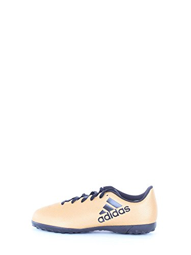 Adidas X Tango 17.4 TF J, Botas de fútbol Unisex niños, Amarillo (Ormetr/Negbas/Rojsol 000), 31.5 EU