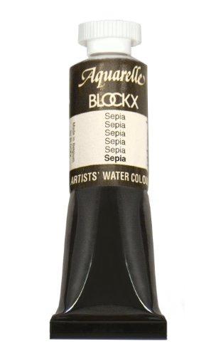 Blockx Sepia 15ml Watercolor Tube