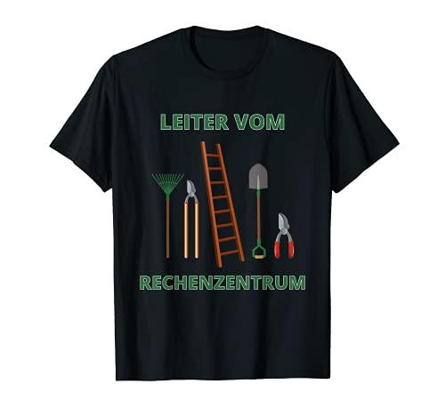 Escalera del centro de datos - Divertido jardinero Camiseta