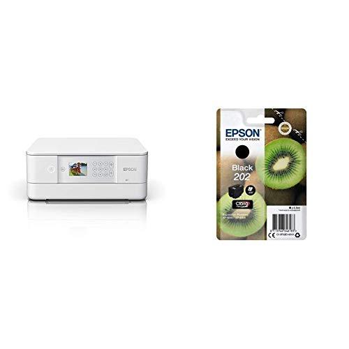 Epson Expression Premium XP-6105 3-in-1 Multifunktionsgerät Drucker (Scannen, Kopieren, WiFi, Duplex, 6,1 cm Display, Einzelpatronen, 5 Farben, DIN A4, Amazon Dash Replenishment-fähig) weiß