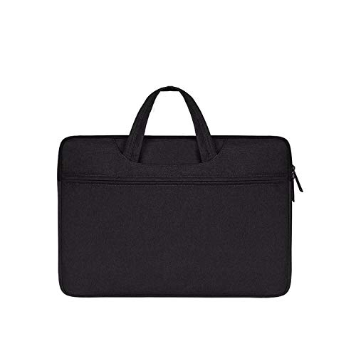 HNKHKJ Laptop Handbag Sleeve Case Funda Protectora Ultrabook Notebook Estuche portátil para 11 12 13 14 15 16 Macbook Air Pro ASUS HP DELL-Black_13.3-Inch