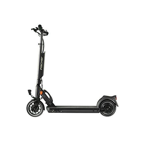 Fischer E-Scooter Elektroroller ioco 1.0 mit Straßenzulassung des KBA, E-Roller, Elektro Scooter, 8 Zoll Reifengröße, bis zu 20 km/h