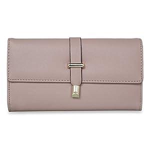 NFI essentials Beige Synthetic Women's Wallet (Y130)