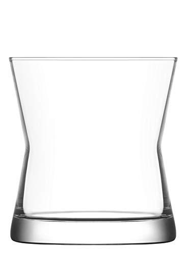 La-V Verres Tumbler à Whisky Derin - pour Whisky on The Rocks - 300 ML - Lot de 6
