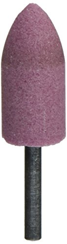 United Abrasives-SAIT 27040 A11 7/8 by 2 by 1/4 A60R Mounted Point Grinding Wheels, 10-Pack