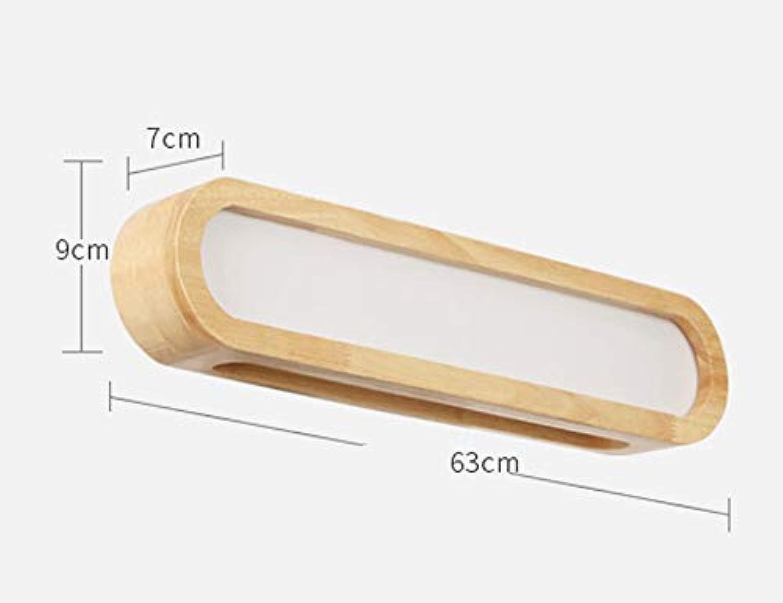 QiXian LED-Spiegel Scheinwerfer, Bad Kosmetikspiegel Beleuchtung Persnlichkeit Einfache und Moderne Mode Kreative Garderobe Wandleuchte Lnge 41   51Cm Energiesparend Wasserdicht, S