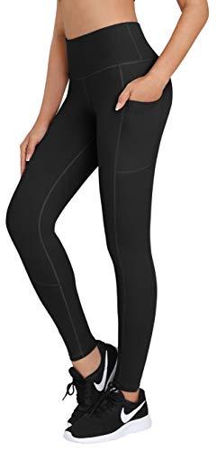 HOFI High Waist Yoga Pants For Women Side & Inner Pockets With Tummy Control Sports Leggings