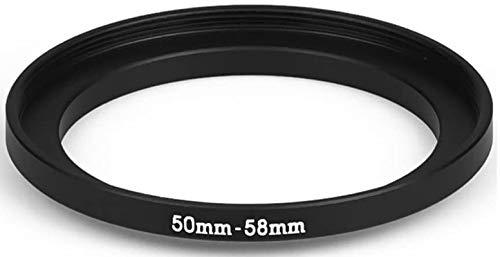 Step Up 50 – 58 mm Anillo adaptador 50 mm 58 mm adaptador anillo 50 mm 58 mm 50 58 50 58 mm lente lente compatible con Nikon Canon Fujifilm Sony Olympus Panasonic Sigma Tamron Tokina