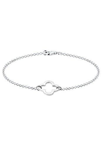 Elli Armband Kleeblatt Glücksbringer 925 Sterling Silber
