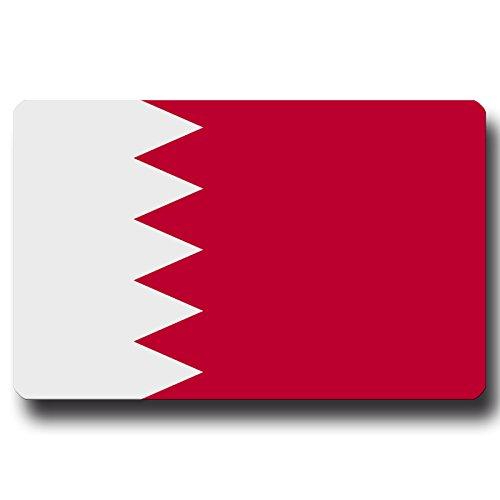 Kühlschrankmagnet Flagge Bahrain - 85x55 mm - Metall Magnet mit Motiv Länderflagge