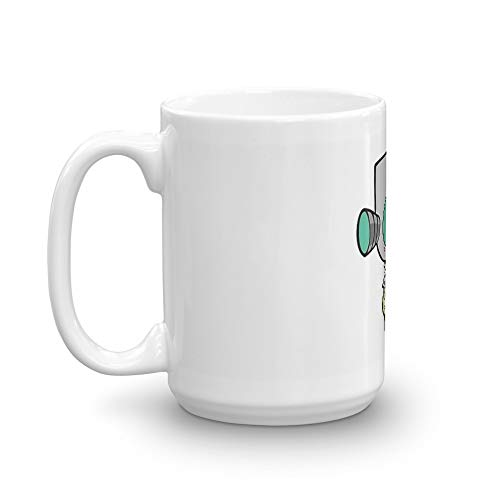 Gir Wearing Dog Suit (Without Mask). 15 Oz Ceramic Glossy Mugs Gift For Coffee Lover Unique Coffee Mug, Coffee Cup