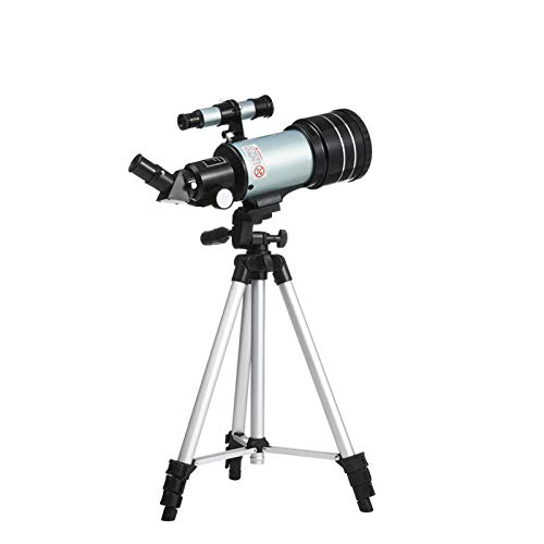 High-mount Astronomical Telescope Professional F30070 Stargazing High-powered High-definition with Night Vision for Adult Kids & Astronomy Beginners, Phone Adapter