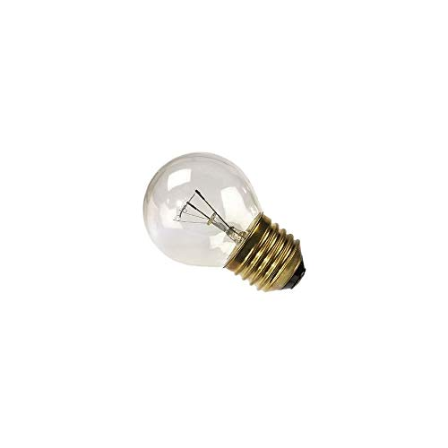 LAMPADA LAMPADINA SFERA PER FORNO CHIARA E27 25W FINO A 300° GRILL ASCIUGATRICI