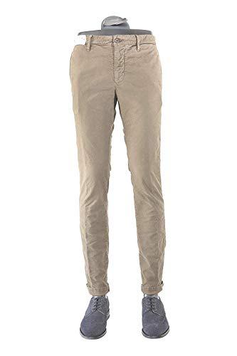Incotex Pantalone Uomo Beige Tasca America (31)
