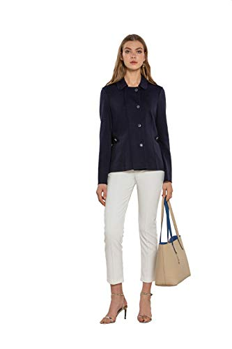NAULOVER - Pantalón para Mujer en Punto Milano, Slim fit Stretch.