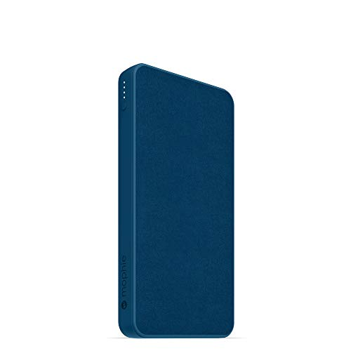 mophie powerstation - Universal Battery - Made for Smartphones, Tablets, and Other USB-C and USB-A Compatible Devices (10,000mAh) - Navy